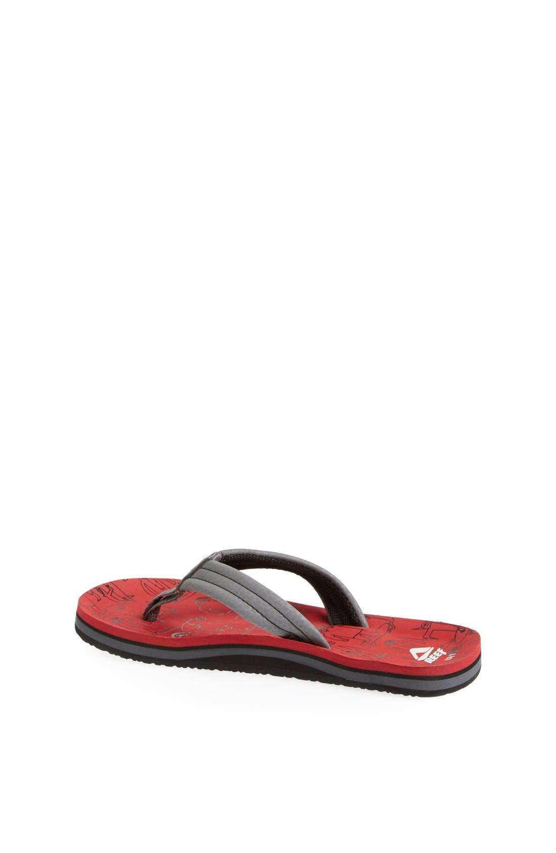 Alternate Image 2  - Reef 'Ahi - Monster' Surf Sandal (Baby, Walker, Toddler, Little Kid & Big Kid)