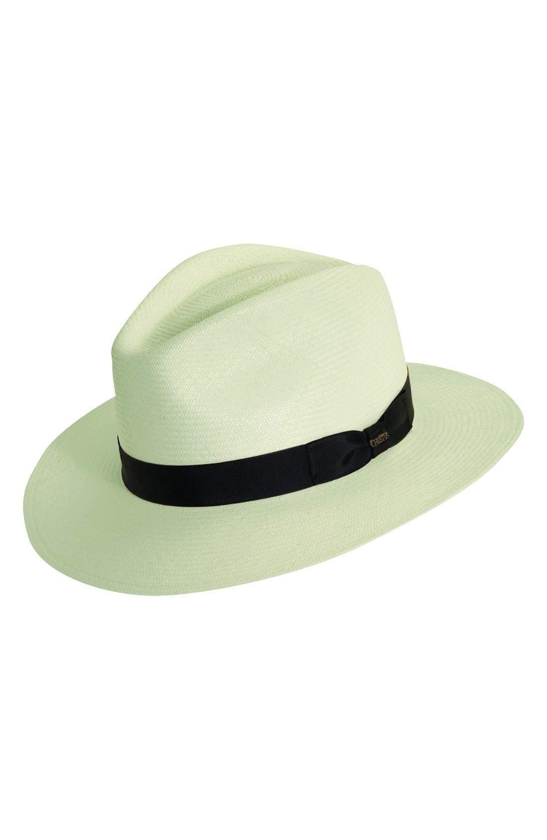 Alternate Image 1 Selected - Christy's London Panama Straw Safari Hat