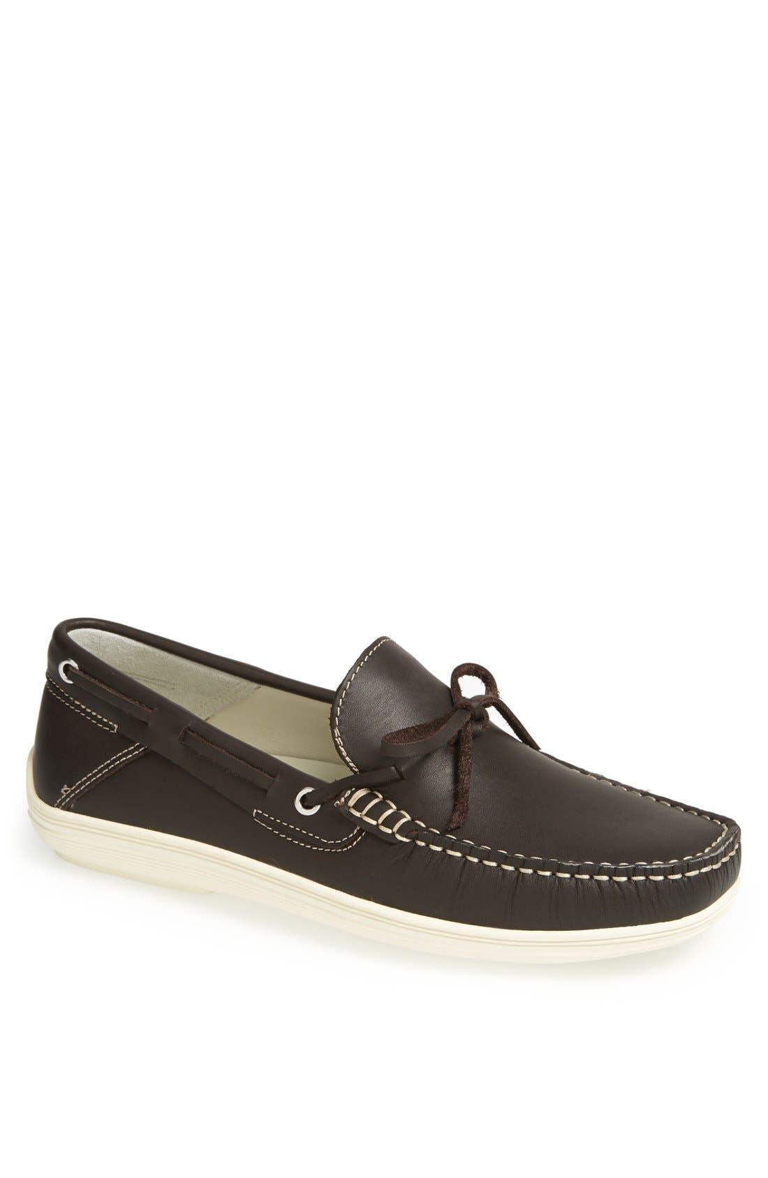 'Bonaire' Driving Shoe,                         Main,                         color, Dark Brown