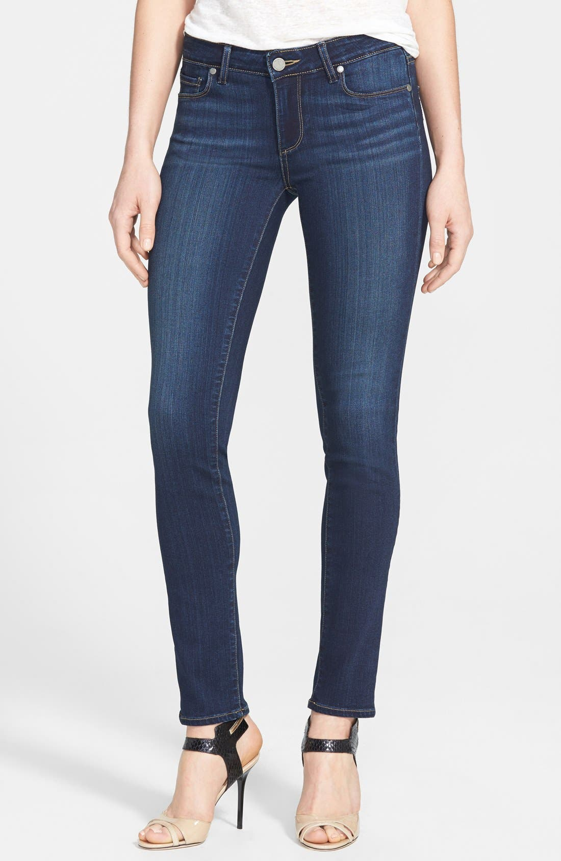 Alternate Image 1 Selected - Paige Denim 'Skyline' Skinny Jeans (Nottingham)