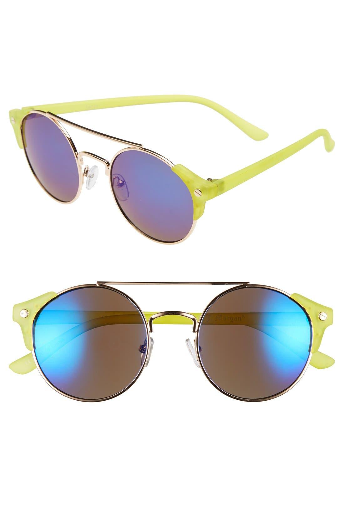 Main Image - A.J. Morgan 'Lunar' 50mm Sunglasses