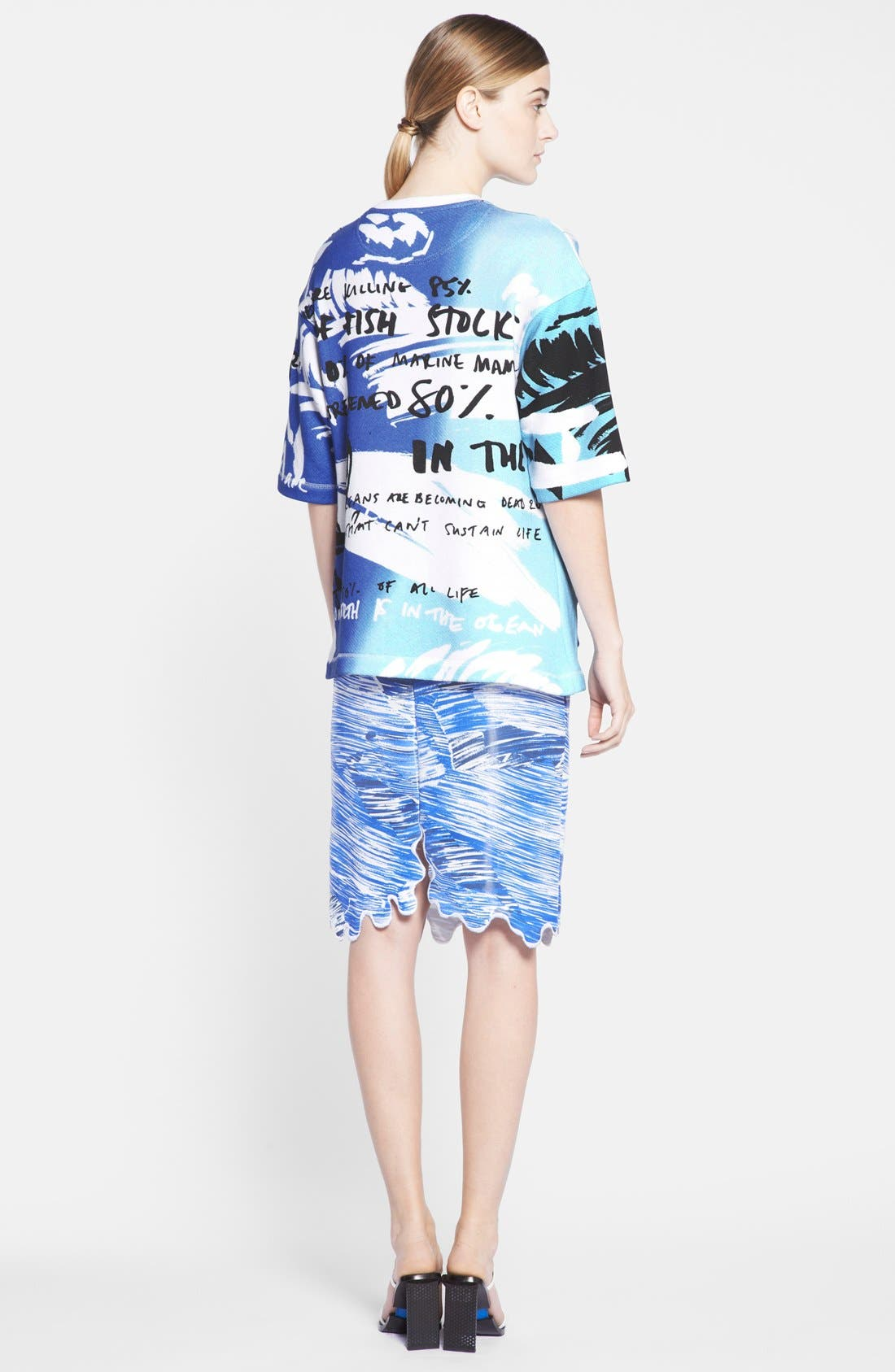 Alternate Image 4  - KENZO 'No Fish, No Nothing' Cotton Jersey Top