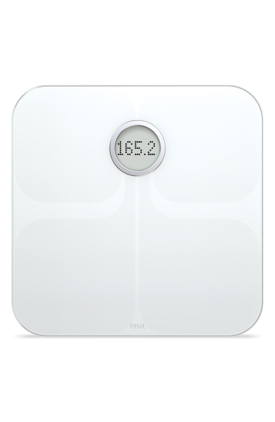 'Aria' Wireless Smart Scale,                             Main thumbnail 1, color,                             White