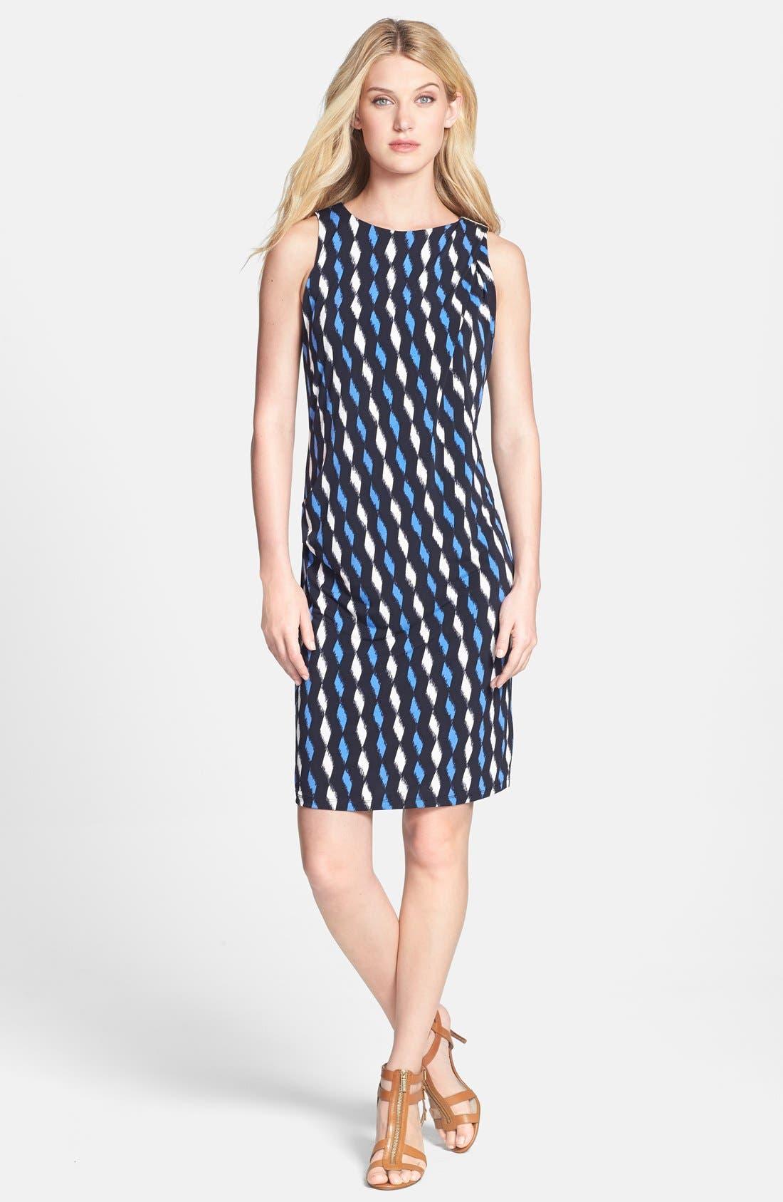 Alternate Image 1 Selected - MICHAEL Michael Kors 'Loom' Print Sheath Dress