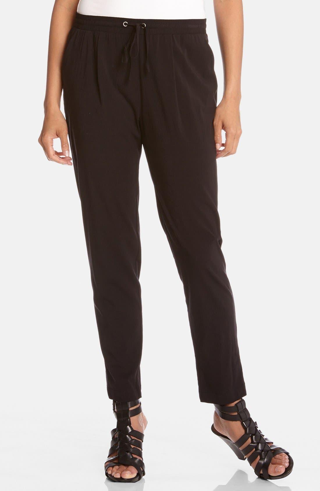 Alternate Image 1 Selected - Karen Kane Drawstring Pants