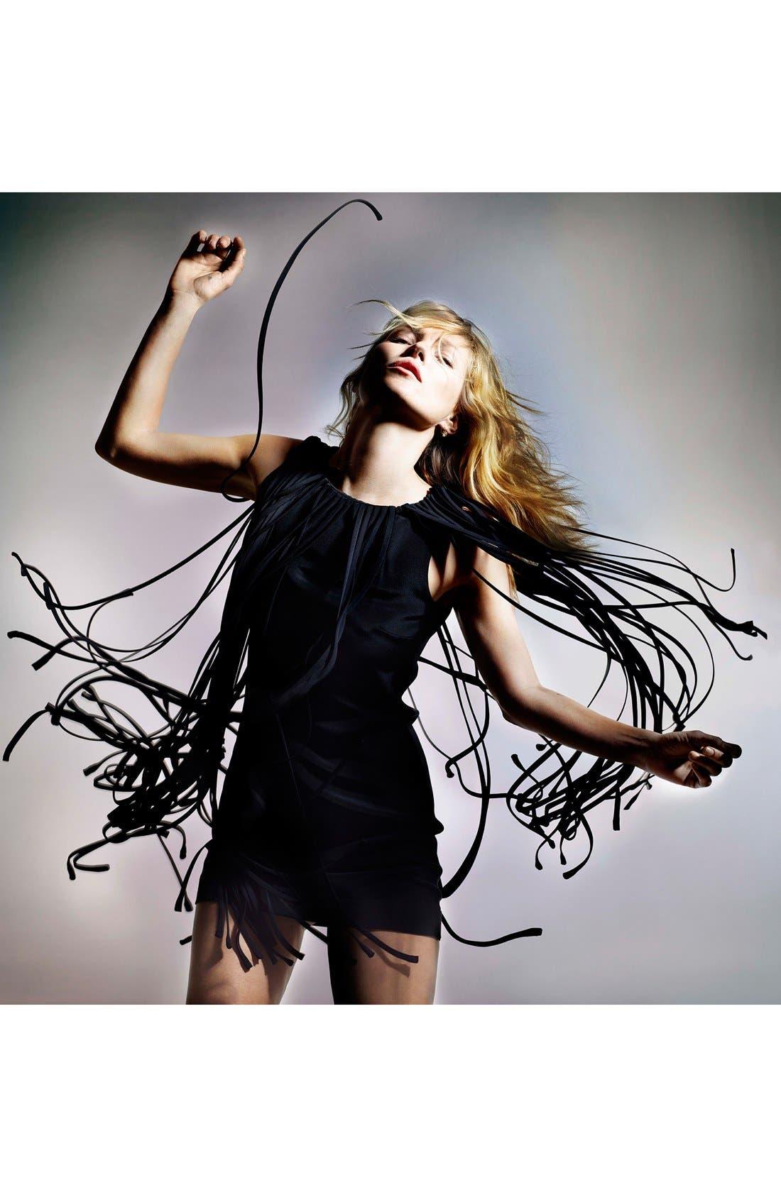 Alternate Image 6  - Kate Moss for Topshop Long Fringed Tassel Dress