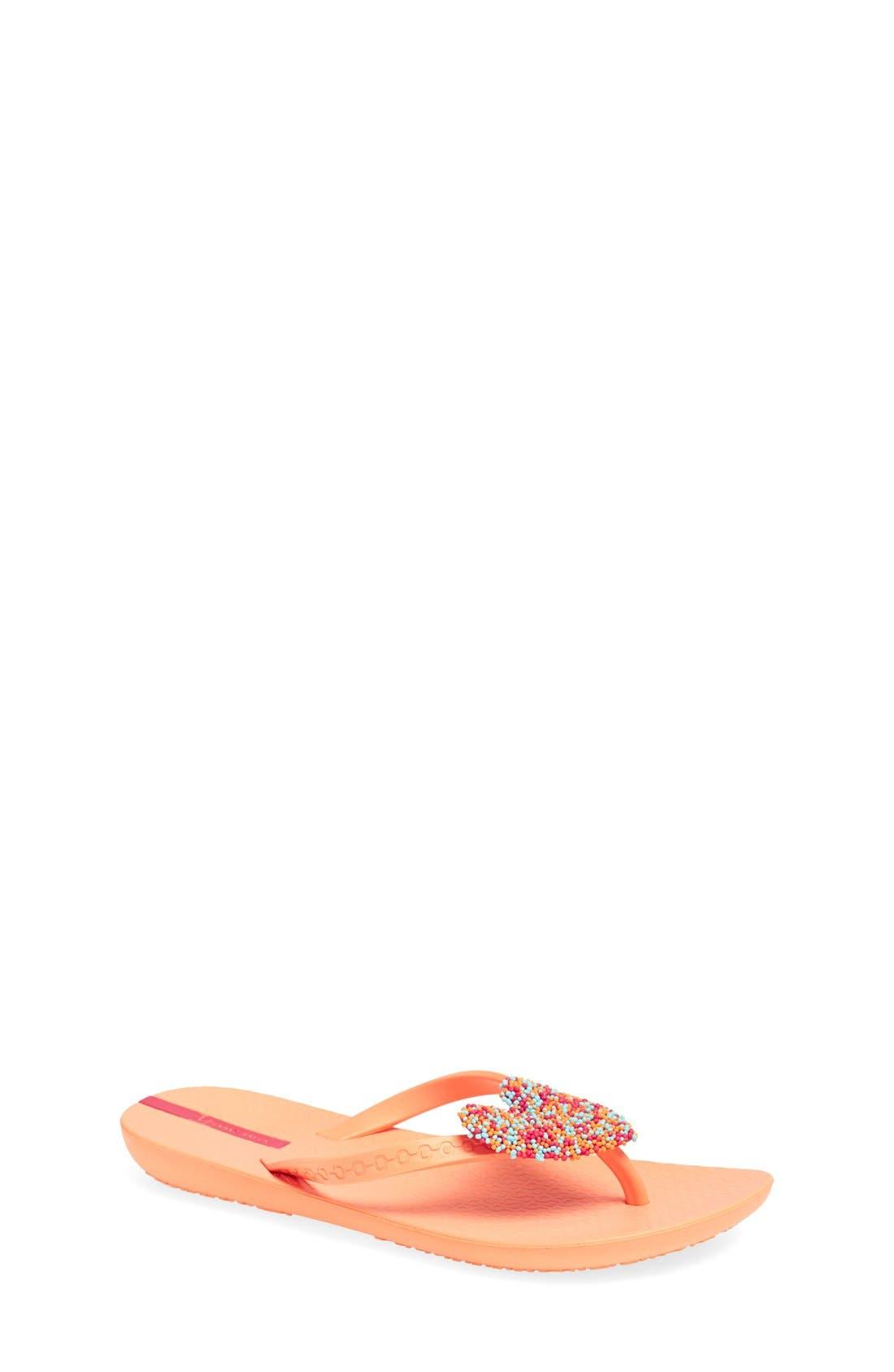 Alternate Image 1 Selected - Ipanema 'Summer Love' Flip Flop (Toddler & Little Kid)