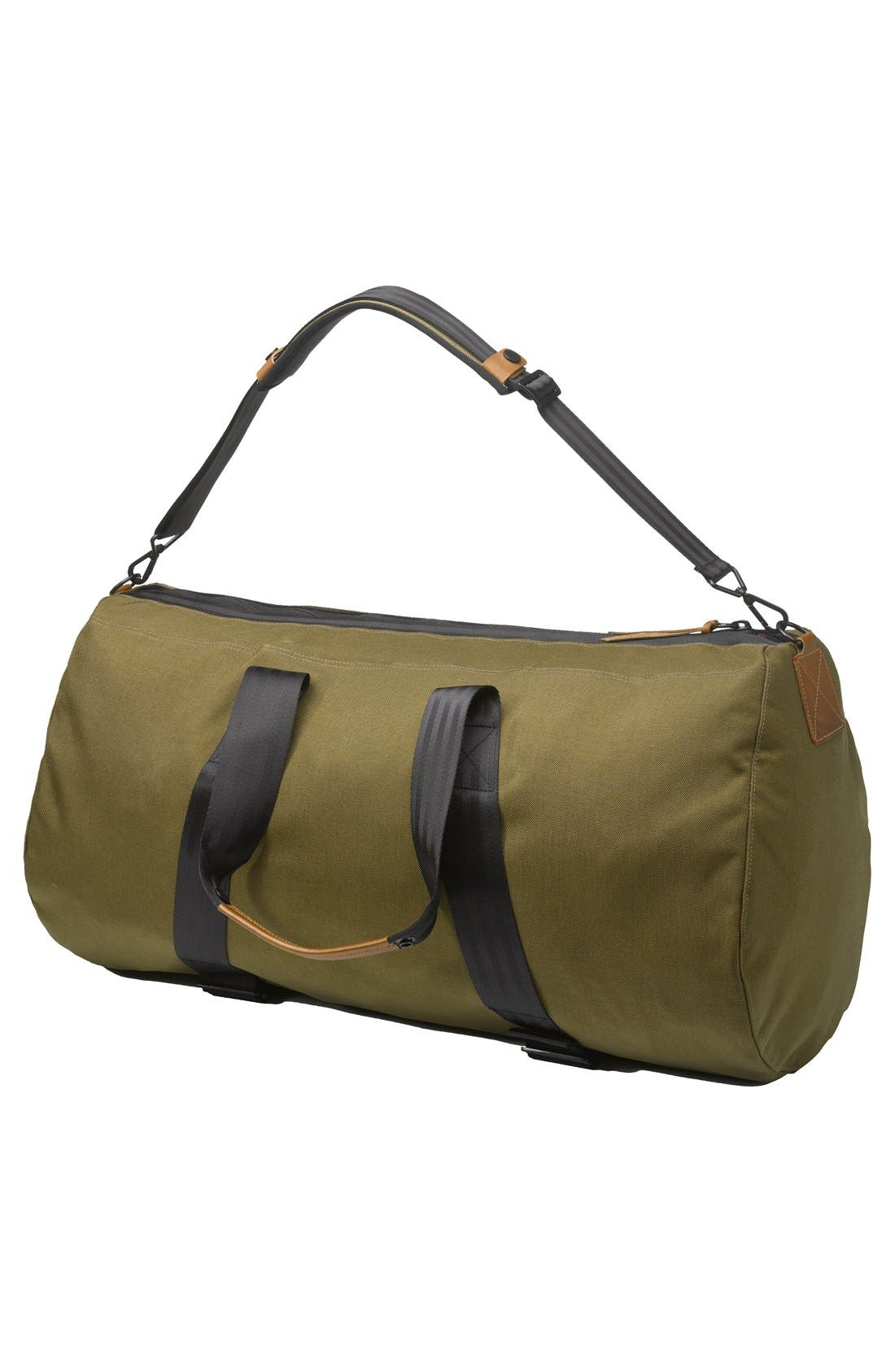 'Atlas' Duffel Bag,                             Alternate thumbnail 3, color,                             Moss
