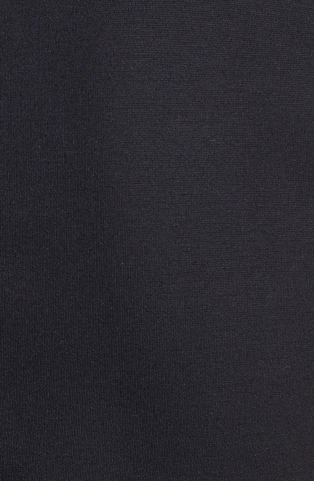 Alternate Image 3  - Halogen® Leather Front Shell (Regular & Petite)