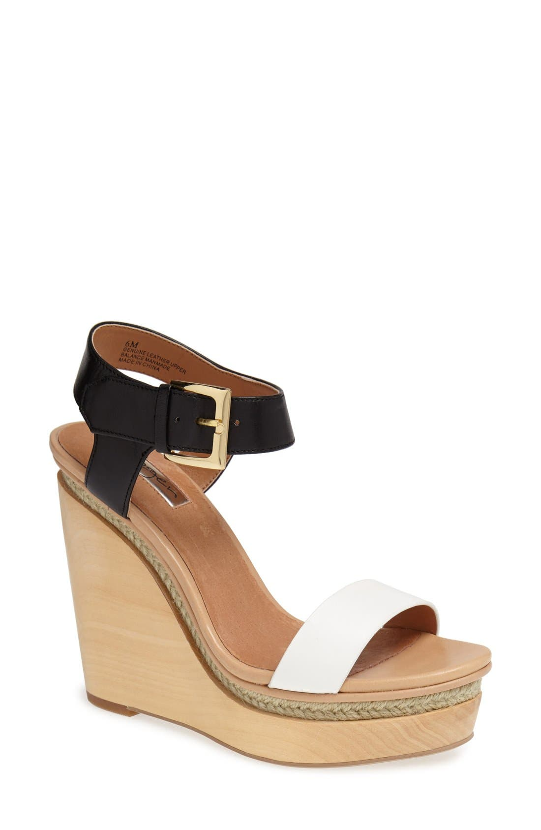 Main Image - HALOGEN JANAE WEDGE SANDAL