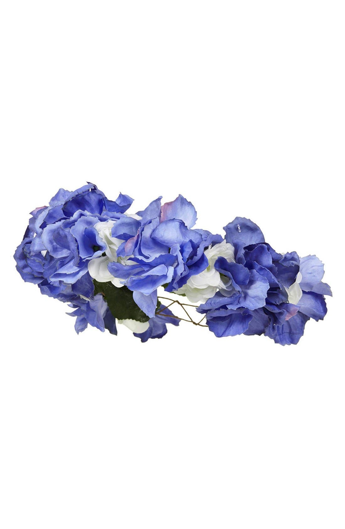 Main Image - Topshop Flower Crown Headband
