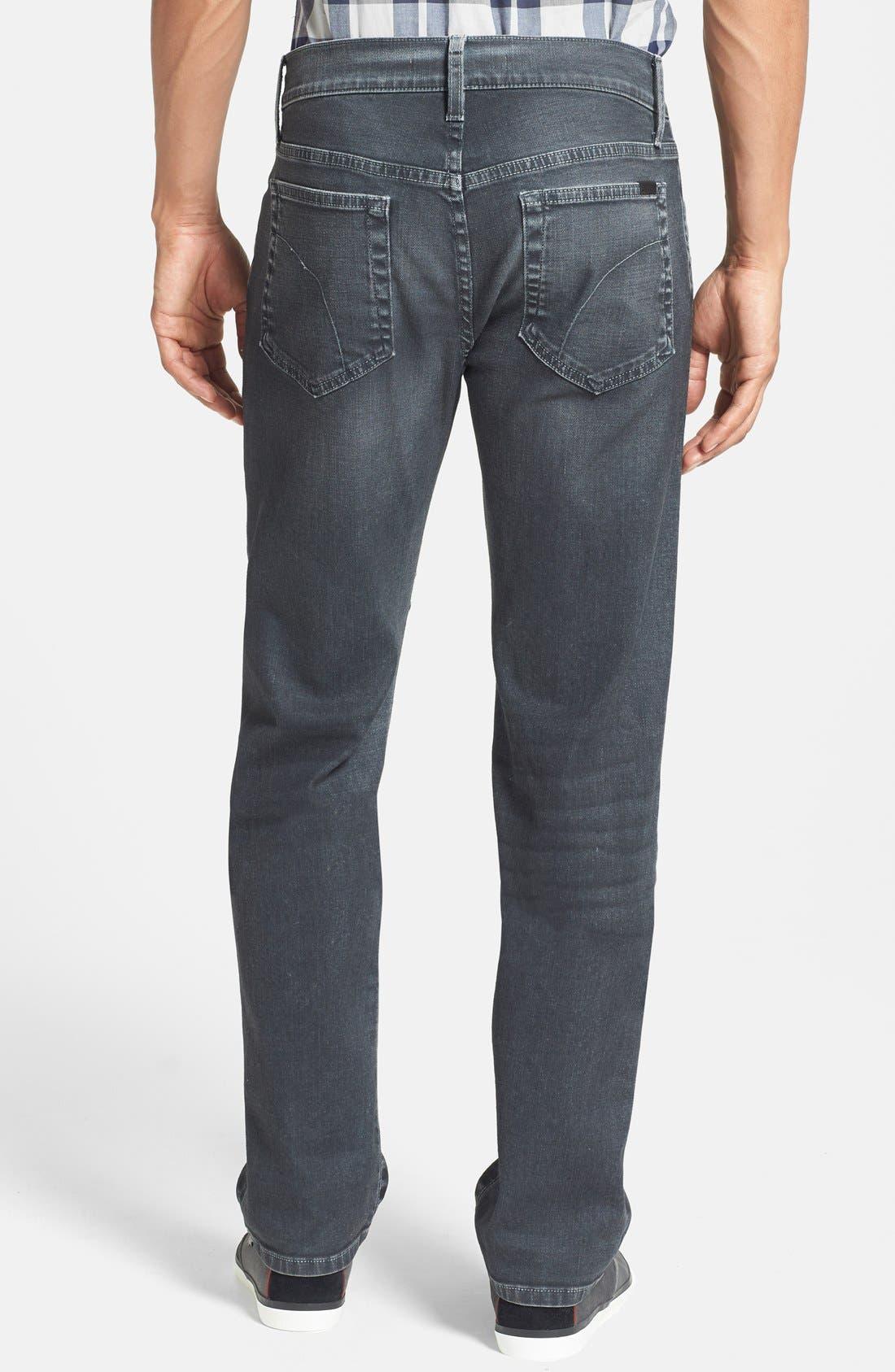 Alternate Image 2  - Joe's 'Brixton' Slim Fit Jeans (Steel)
