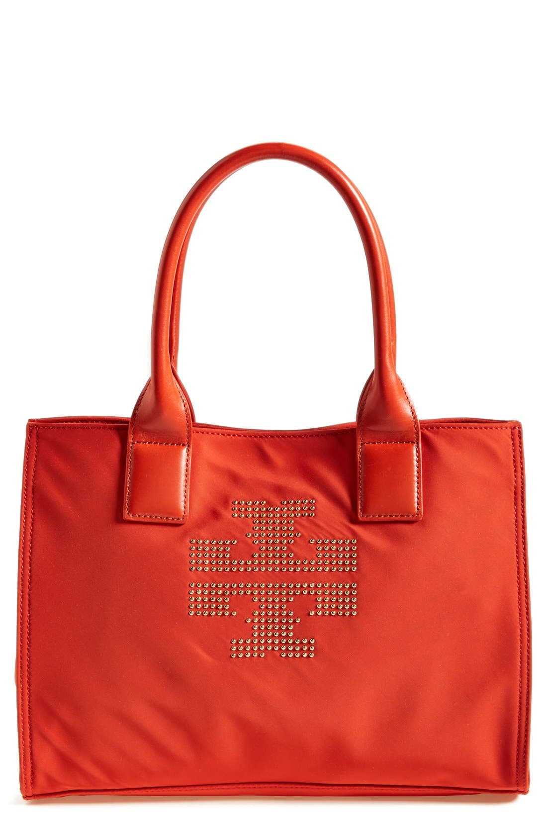 Alternate Image 1 Selected - Tory Burch 'Mini Ella' Studded Tote
