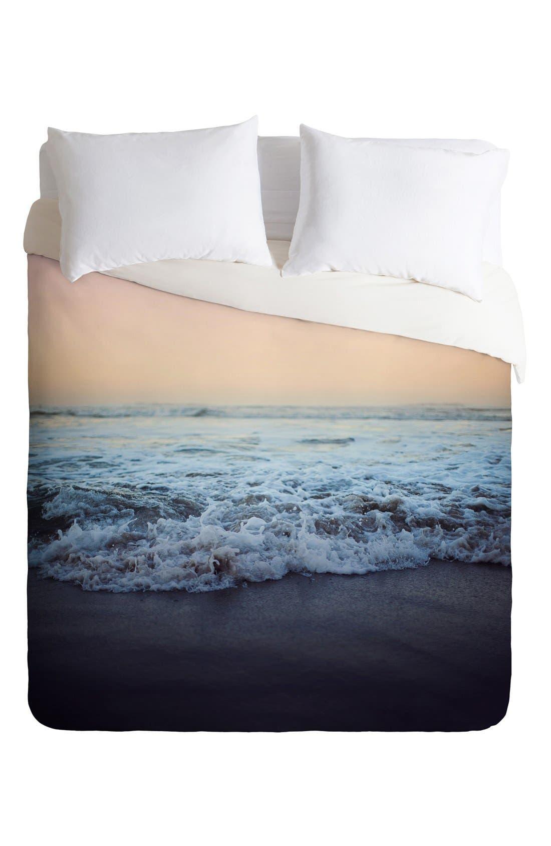Alternate Image 2  - Deny Designs Crash Into Me Duvet Cover & Sham Set
