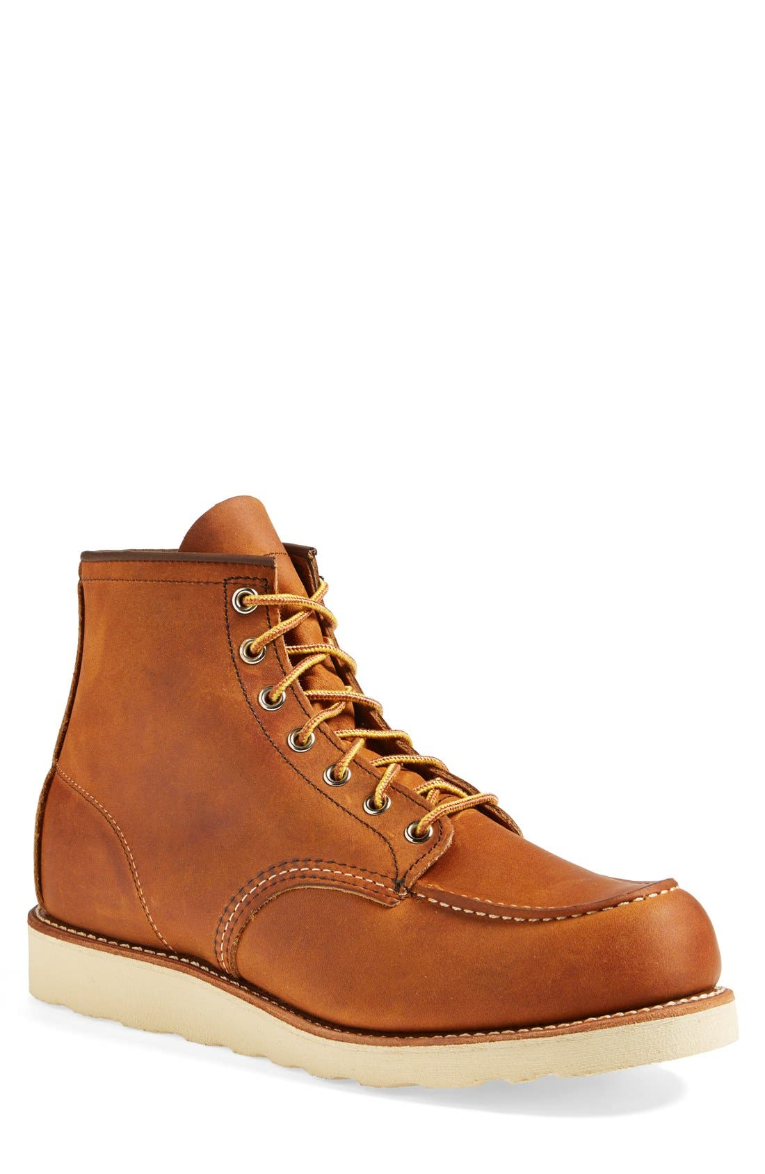 Moc Toe Boot,                             Main thumbnail 1, color,                             Copper Yuma