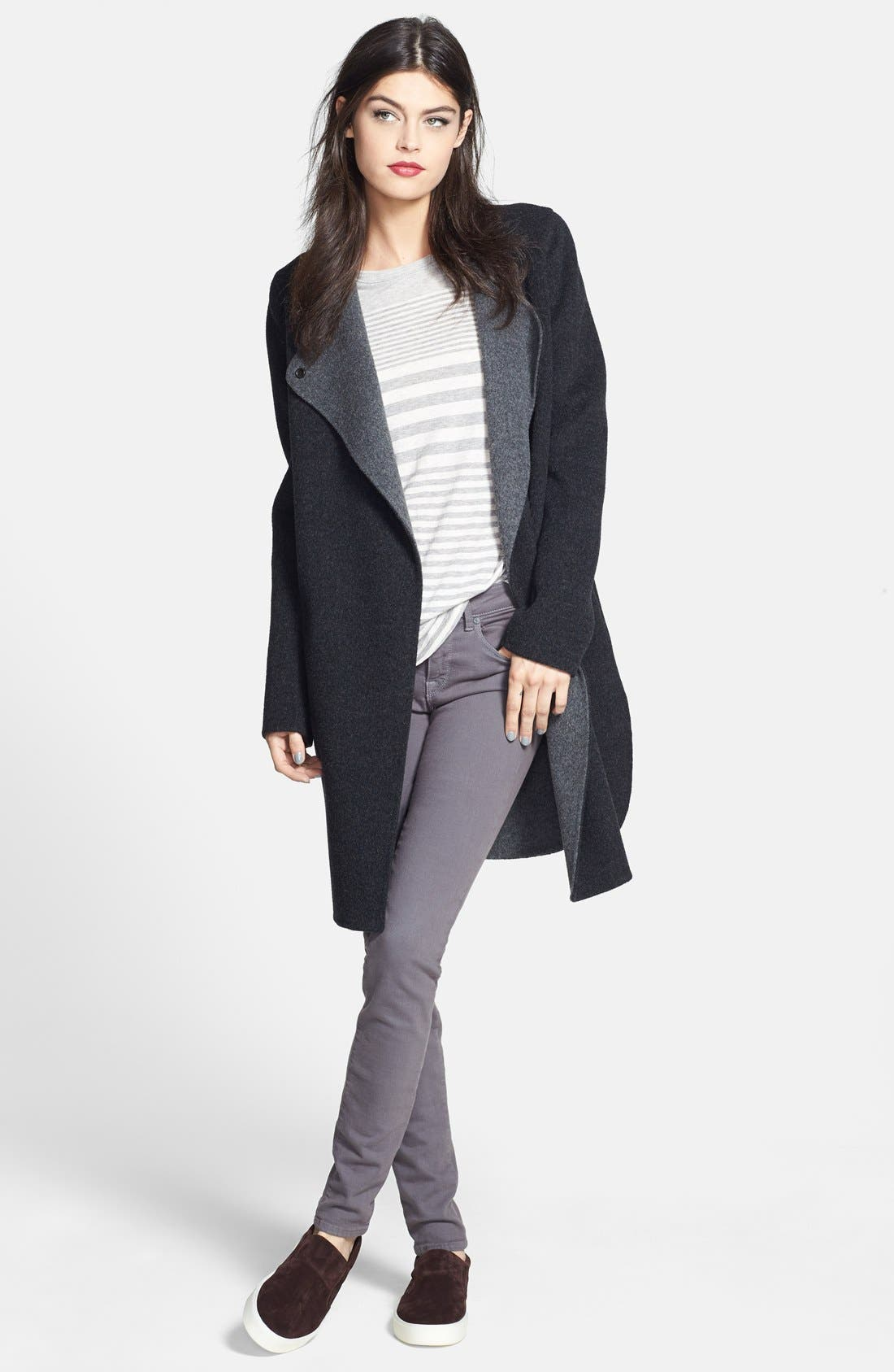 Main Image - Vince Two-Tone Coat