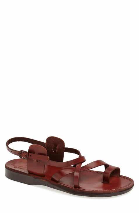 87cbbff3d88dd Jerusalem Sandals  The Good Shepherd  Leather Sandal (Men)
