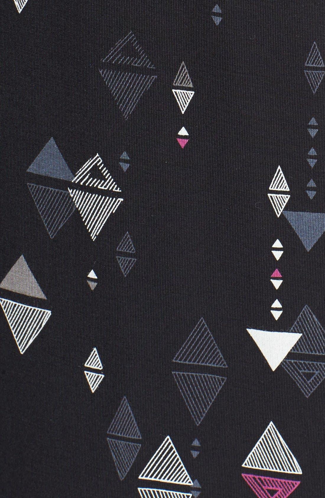 Alternate Image 3  - Sejour Cutaway Shoulder Jersey Maxi Dress (Plus Size)