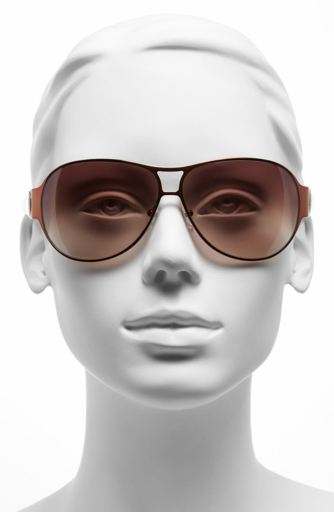 Alternate Image 2  - MARC BY MARC JACOBS 64mm Aviator Sunglasses