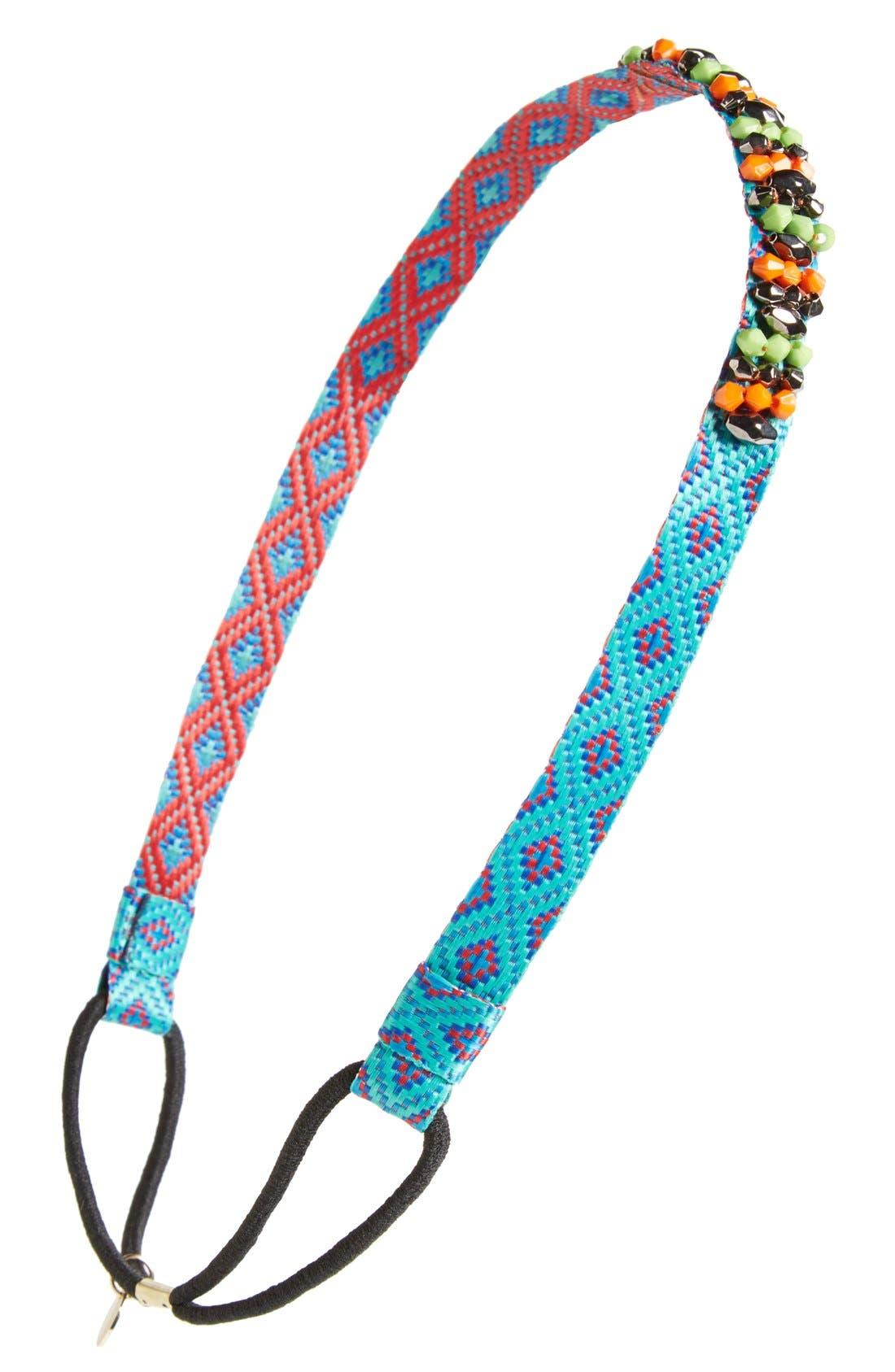 Main Image - Cara 'Traveling Beads' Head Wrap
