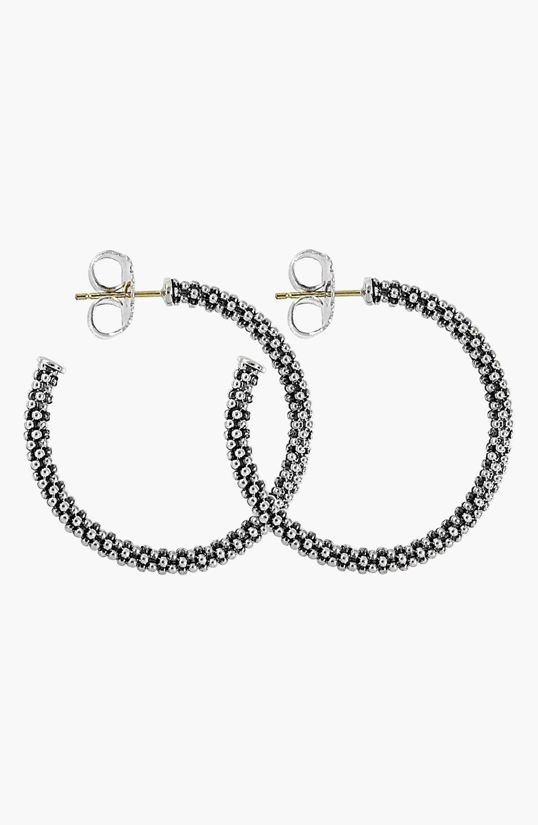 Alternate Image 4  - Lagos Caviar Hoop Earrings (Online Only)