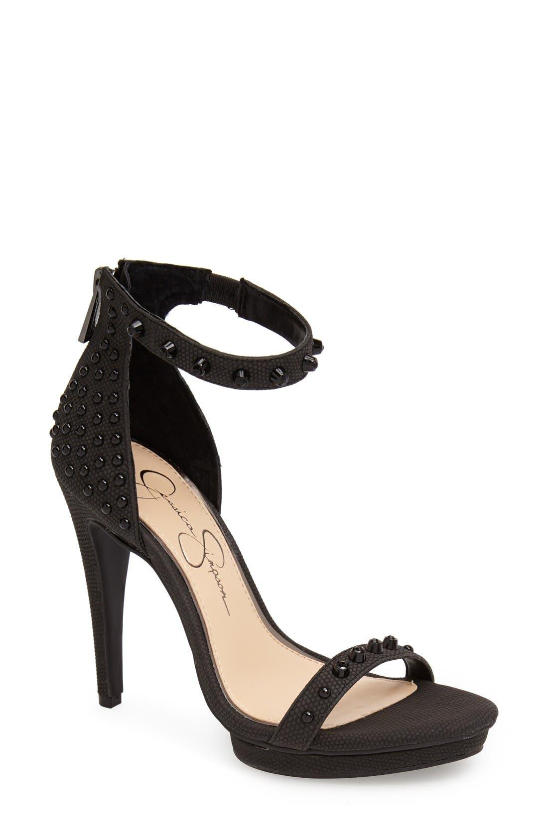 Alternate Image 1 Selected - Jessica Simpson 'Faralie' Sandal (Women)