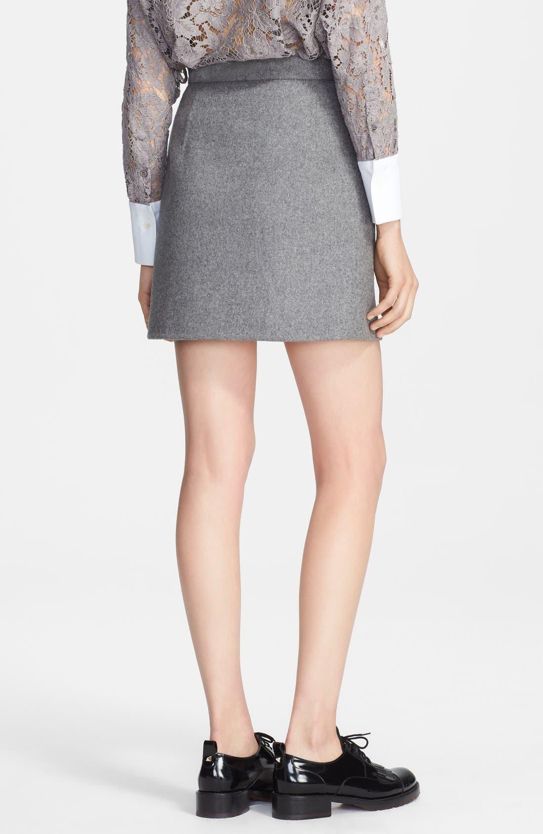 Alternate Image 2  - Valentino Wool Blend Skirt