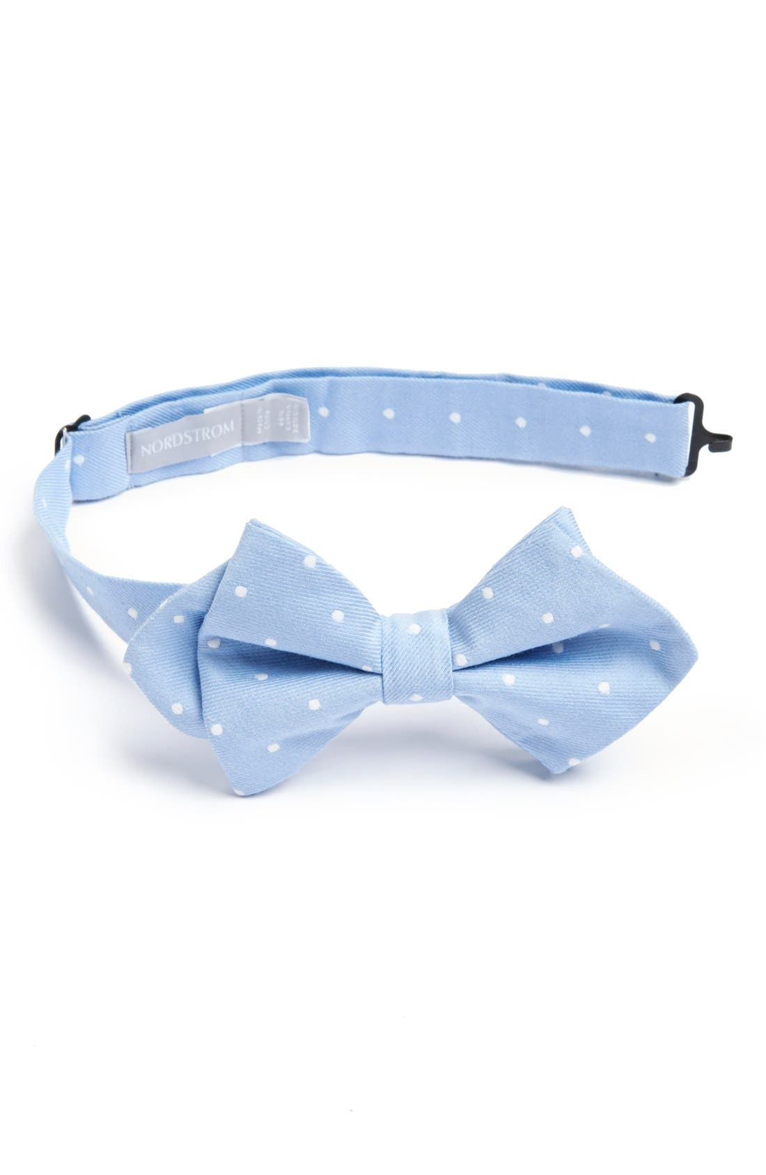 Main Image - Nordstrom Cotton & Silk Bow Tie (Big Boys)
