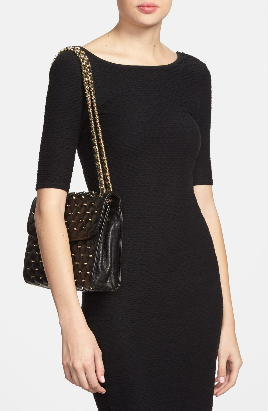 Alternate Image 2  - Rebecca Minkoff 'Quilted Affair with Studs' Shoulder Bag