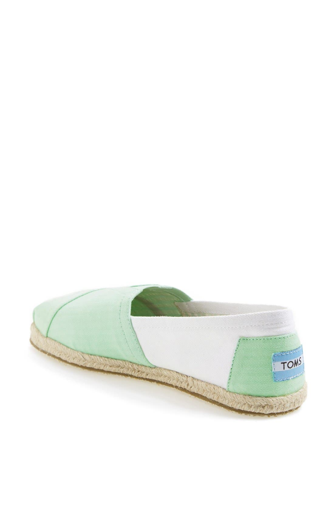 Alternate Image 2  - TOMS 'Classic - Colorblock' Slip-On (Women)