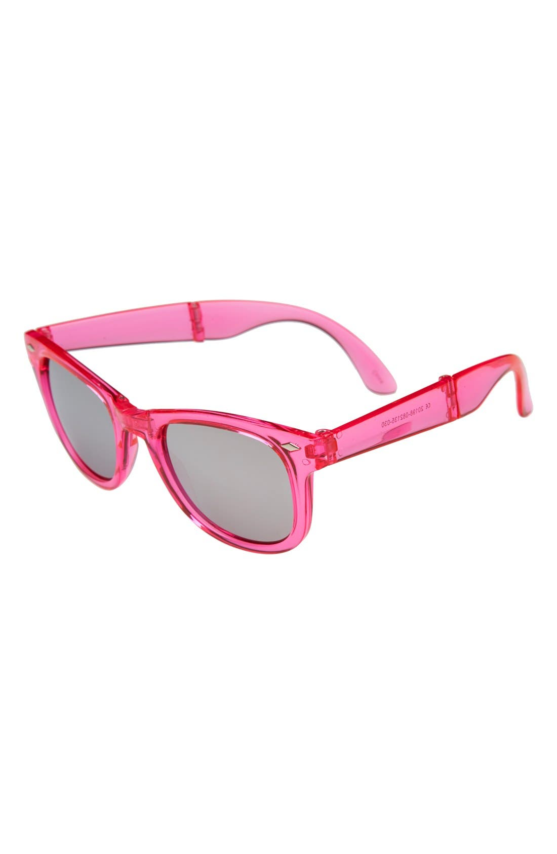 Alternate Image 1 Selected - Icon Eyewear Foldable Sunglasses (Girls)