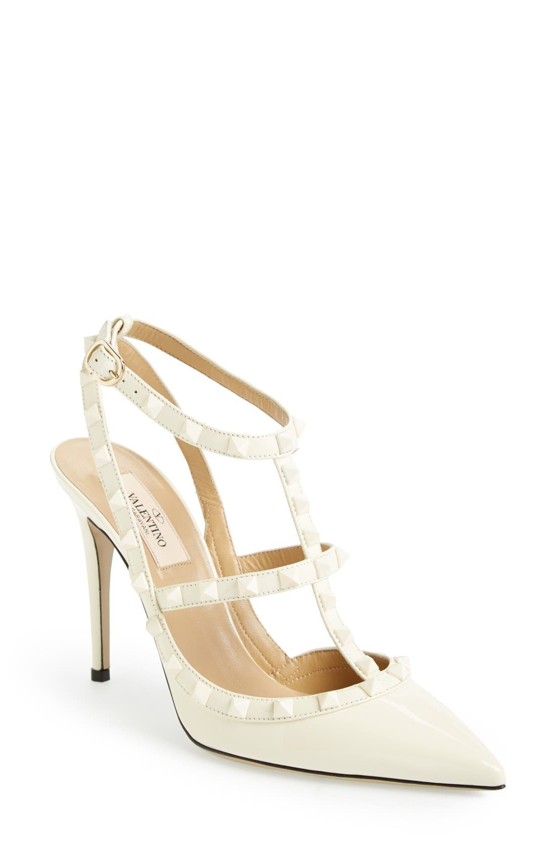 Alternate Image 1 Selected - Valentino 'Punkouture' T-Strap Pump