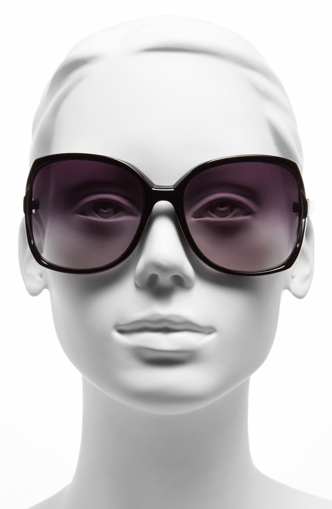 Alternate Image 2  - Icon Eyewear 62mm Butterfly Sunglasses (Juniors)