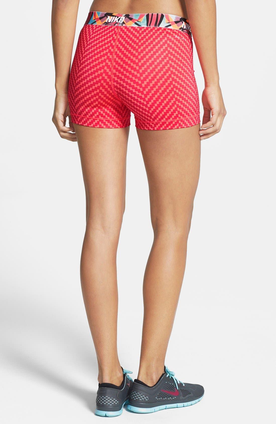 Alternate Image 2  - Nike 'Pro Core - Zigzag' Compression Shorts