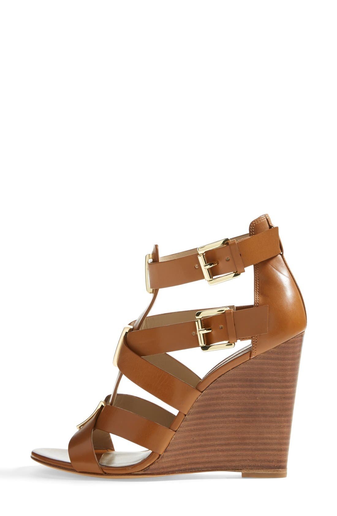 Alternate Image 4  - Michael Kors 'Reagan' Wedge Sandal (Women)