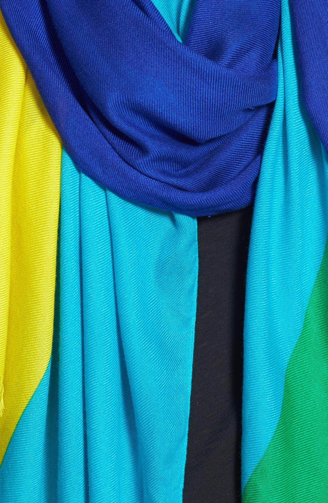 Alternate Image 3  - kate spade new york colorblock scarf