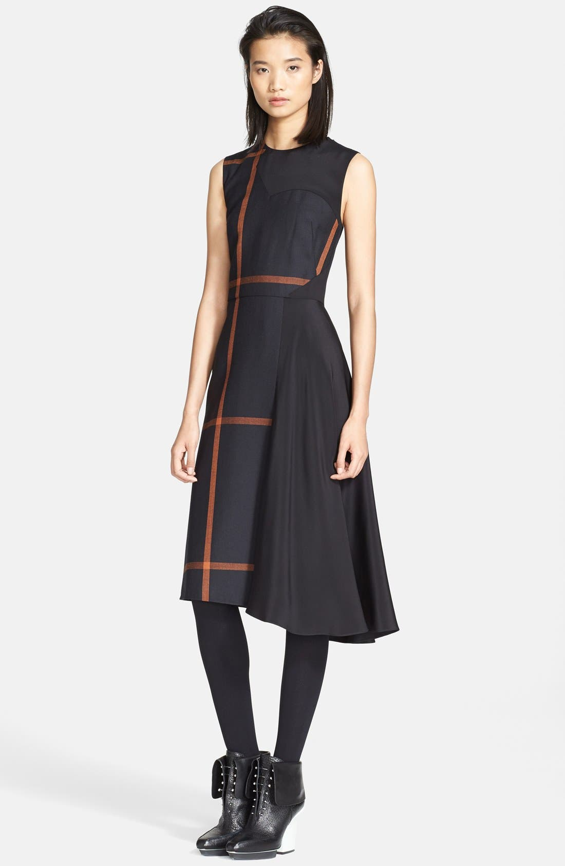 Alternate Image 1 Selected - 3.1 Phillip Lim 'Shadow' Satin Inset Dress