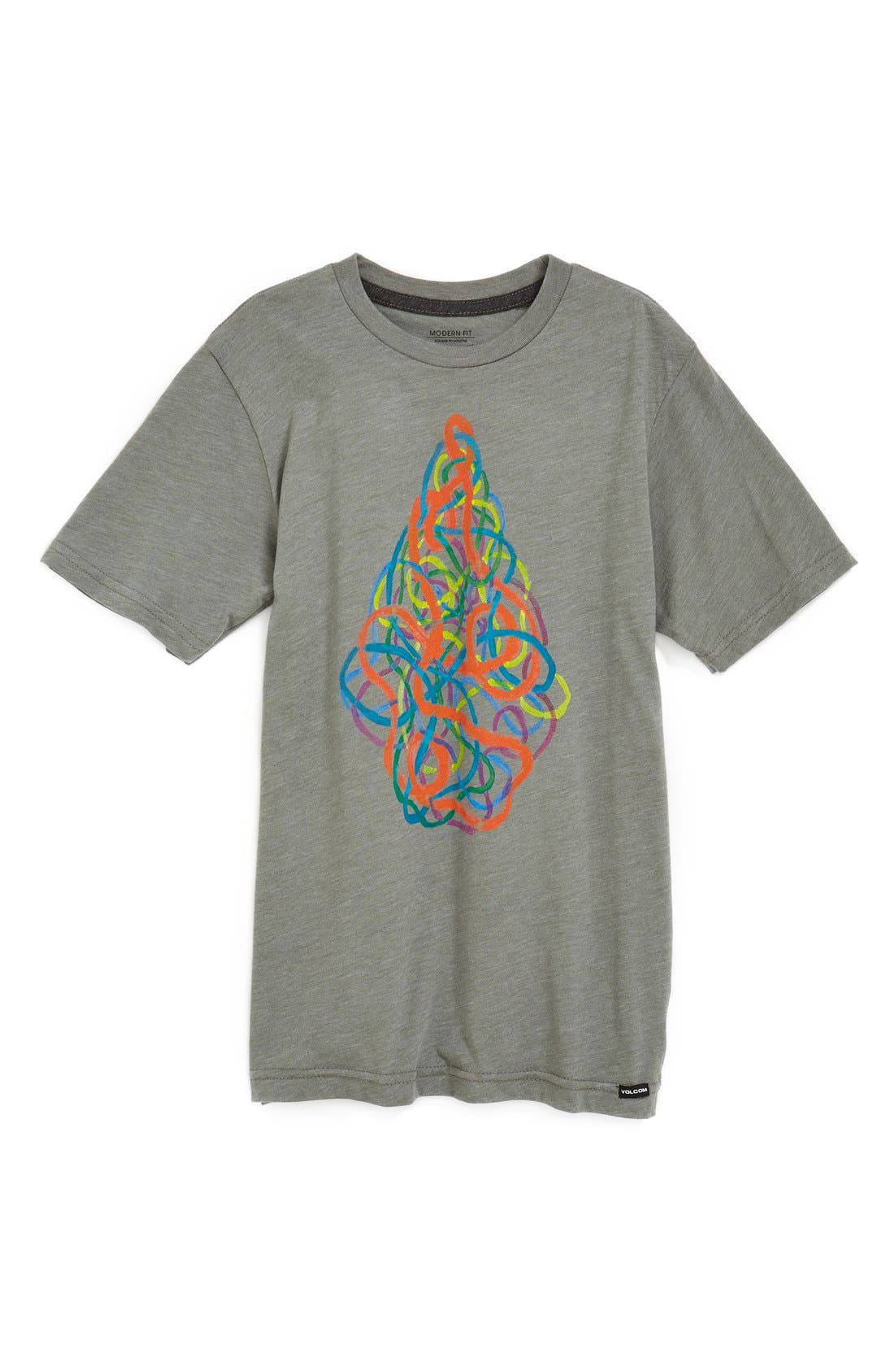 Alternate Image 1 Selected - Volcom 'Pathways' T-Shirt (Big Boys)
