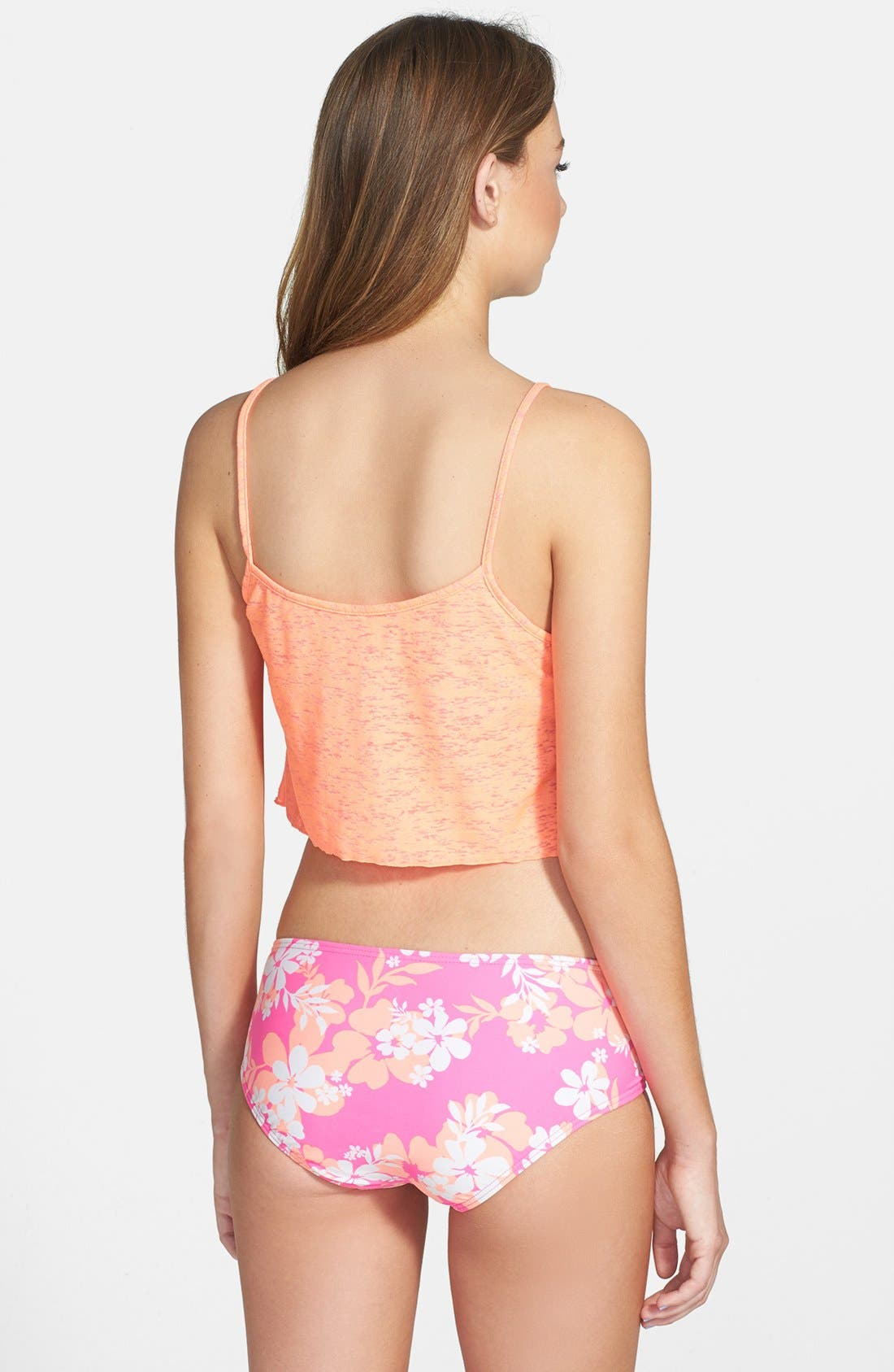 Alternate Image 2  - Smoothies by Gossip Reversible Crop Top (Juniors)
