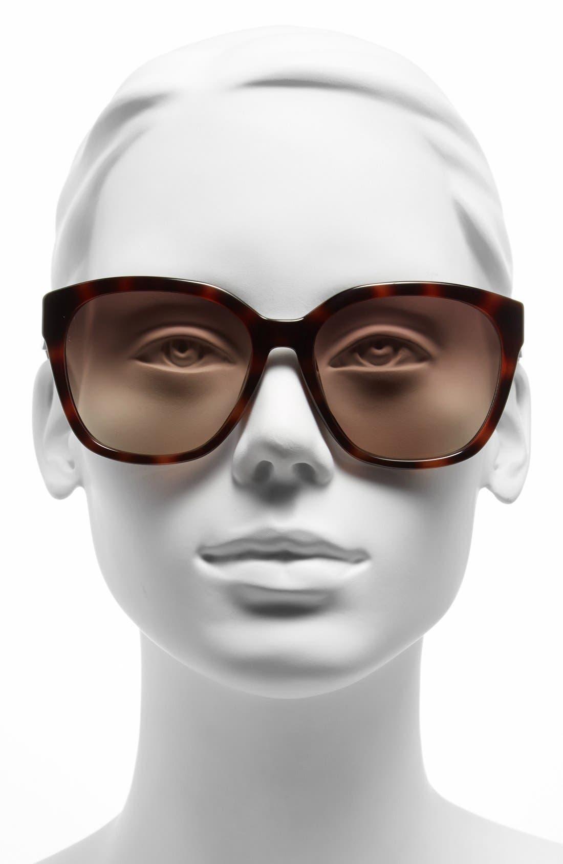 Alternate Image 2  - MICHAEL Michael Kors 58mm Retro Sunglasses