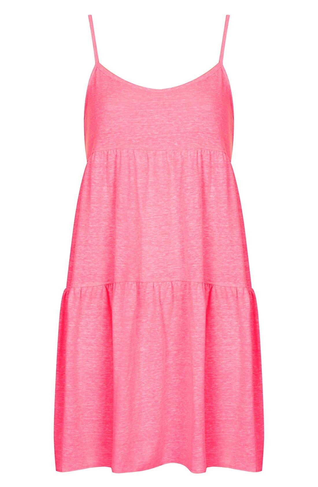 Alternate Image 3  - Topshop Tiered Slub Knit Dress