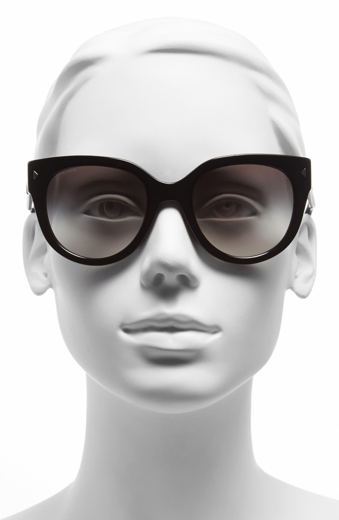 Alternate Image 2  - Prada 54mm Cat Eye Sunglasses