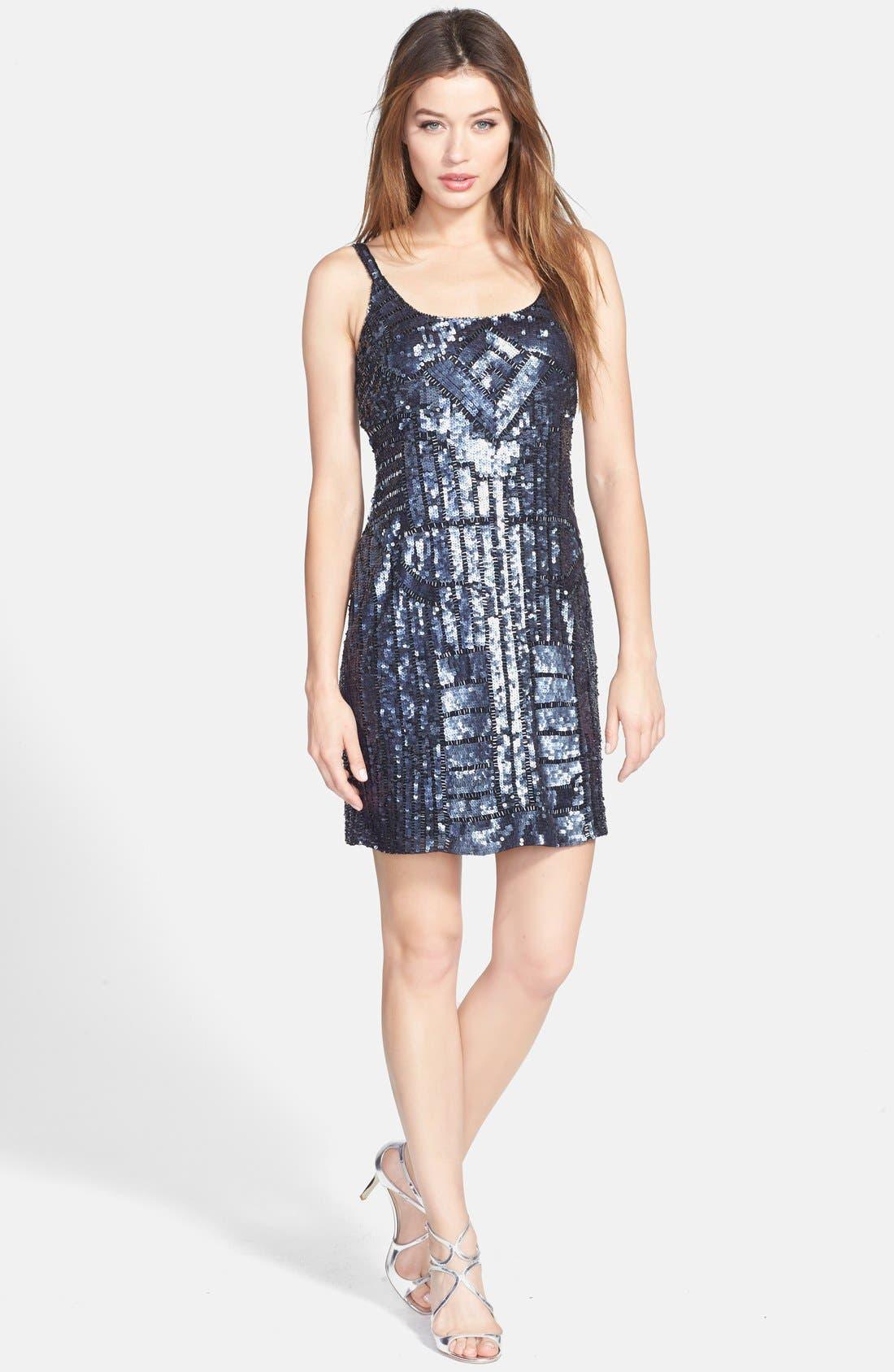 Alternate Image 3  - Adrianna Papell Beaded Tank Dress