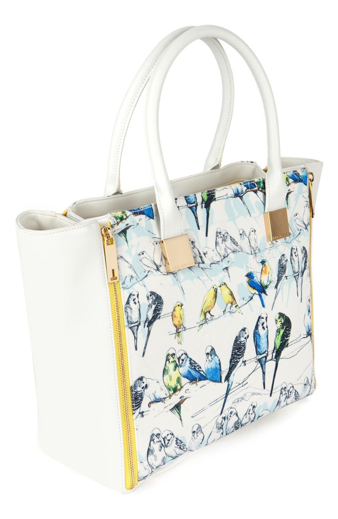 Alternate Image 3  - Ted Baker London 'Canary' Crosshatch Shopper