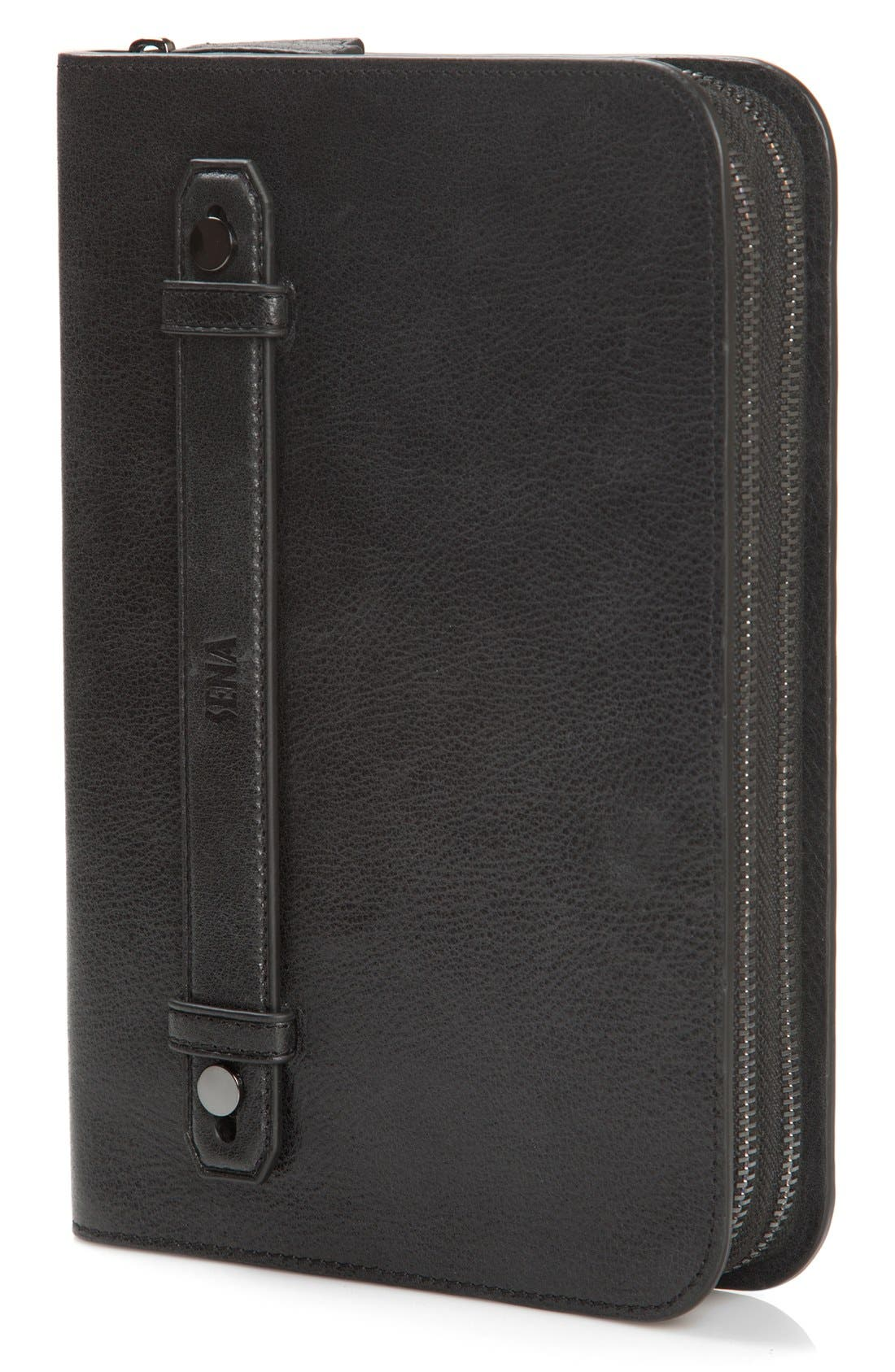 'Heritage' iPad mini All-in-One Case,                             Alternate thumbnail 3, color,                             Black