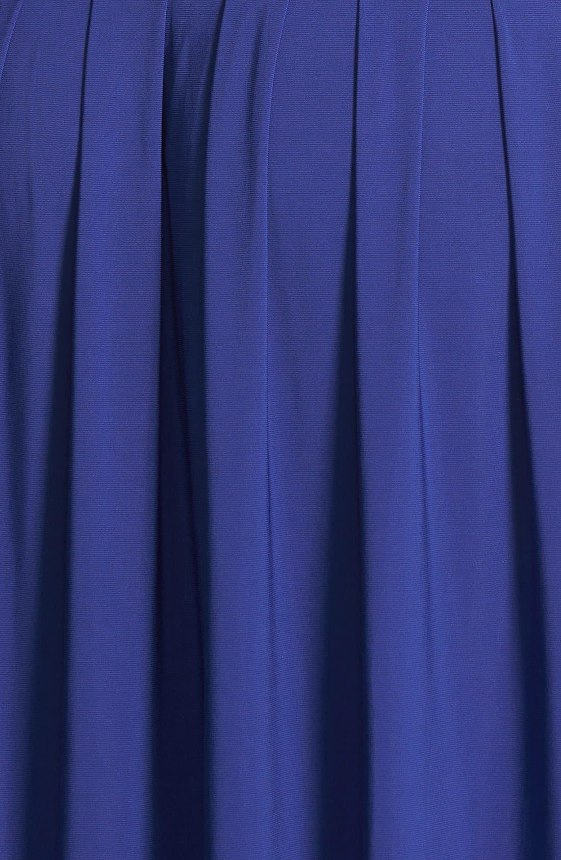Alternate Image 3  - Eliza J Ruched Stretch Knit Dress (Plus Size) (Online Only)