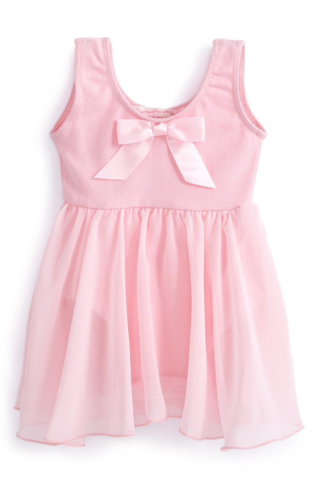 Main Image - Popatu Ballerina Dress (Baby Girls)