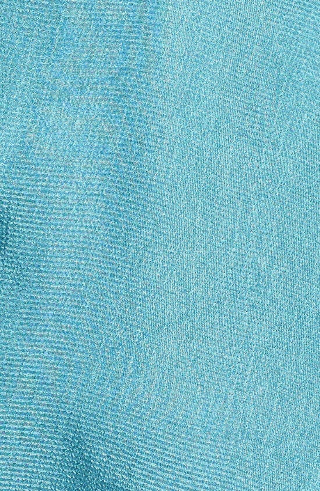 Alternate Image 3  - ASTR Mesh Inset Jacquard Slip Dress