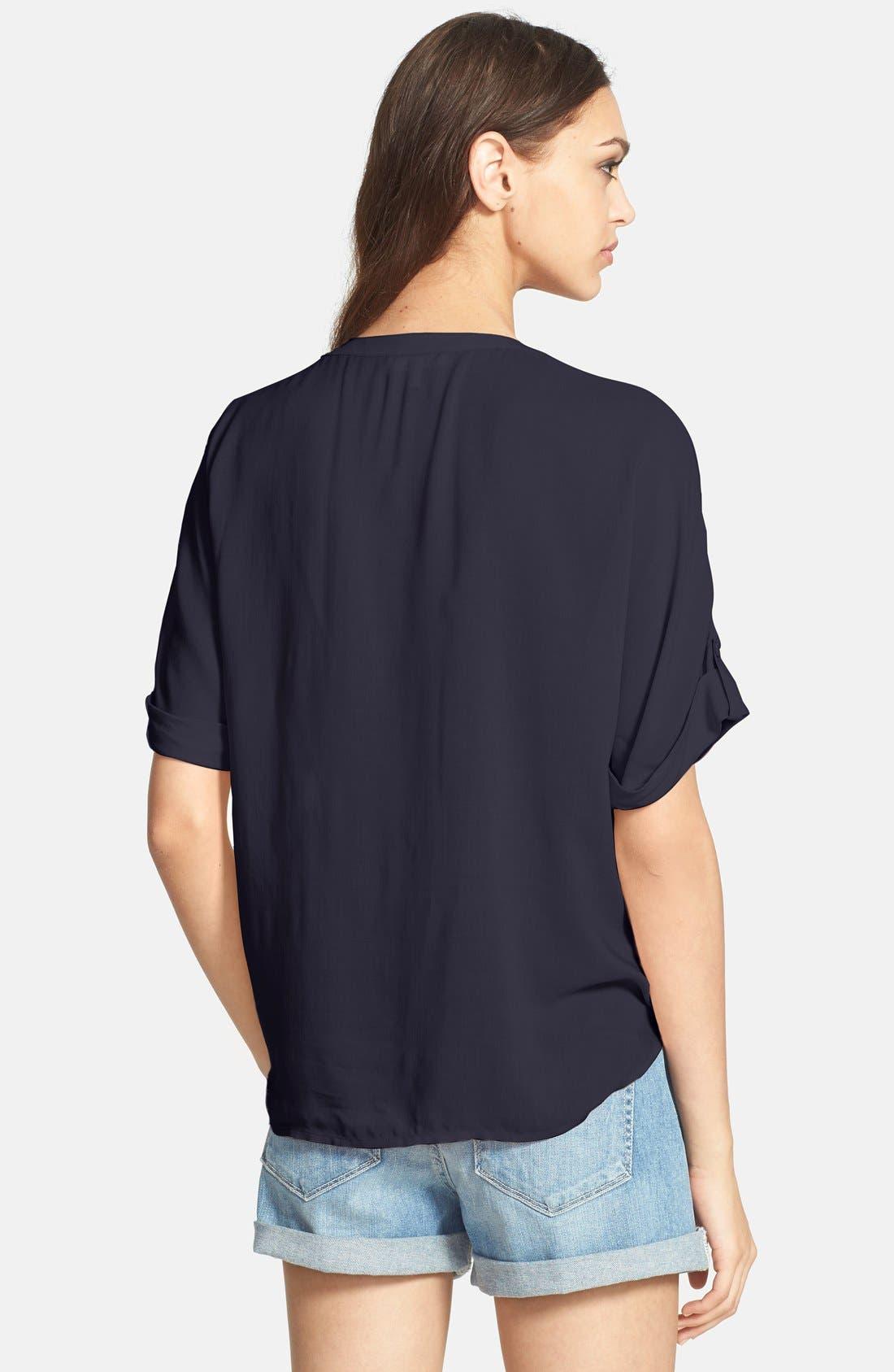 Alternate Image 2  - Paige Denim 'Whitney' Tie Front Shirt