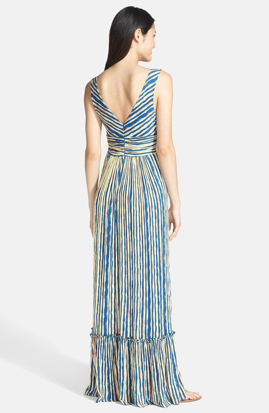 Alternate Image 2  - Plenty by Tracy Reese 'Marcia' Print Jersey Maxi Dress